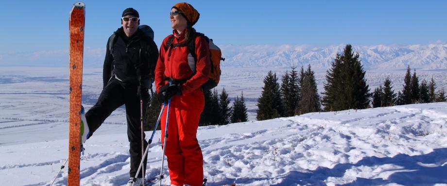 Issyk Kul area ski tour