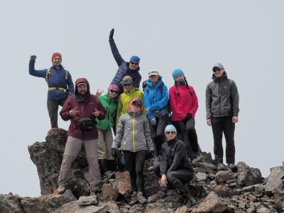 One-day ascent to Zelenkovoy Peak