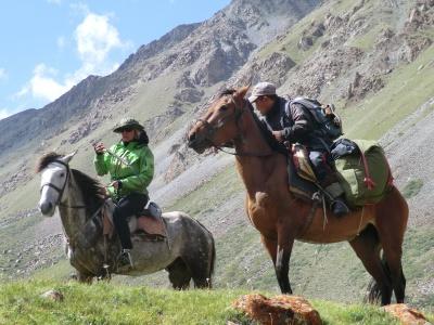 Знакомство с киргизской лошадью