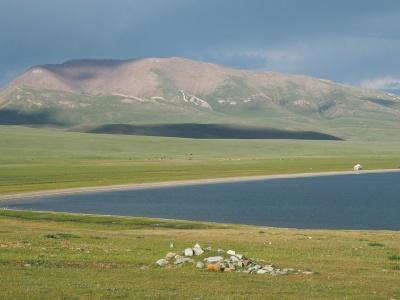 Трек к озеру Сон Куль